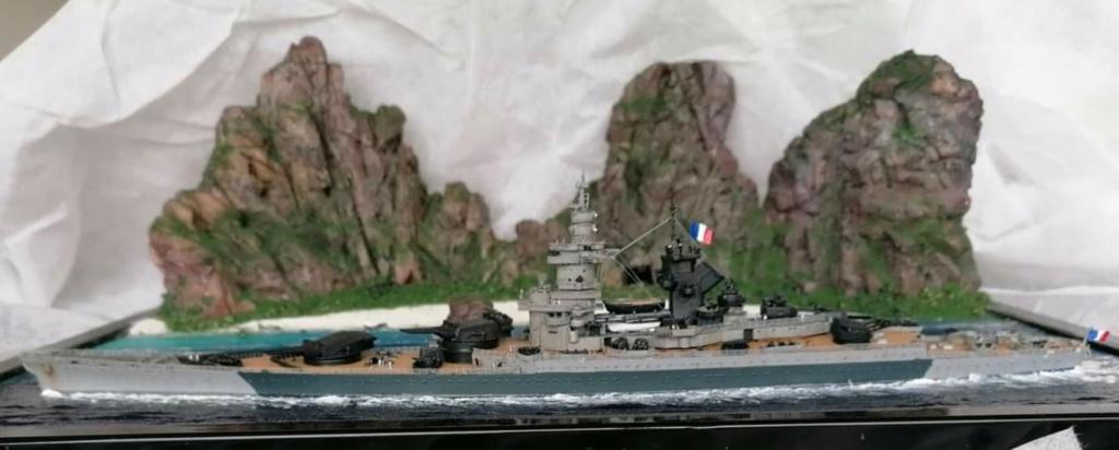 Cuirassé Richelieu 1/700 Screen35