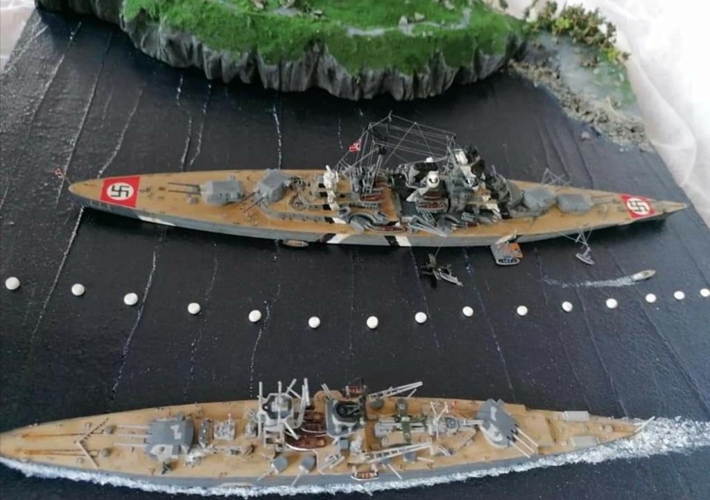 Bismarck 1/700 Screen48