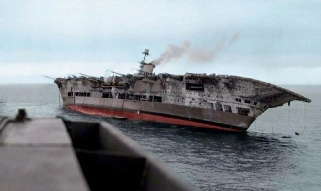 HMS Ark Royal, le naufrage Screen64
