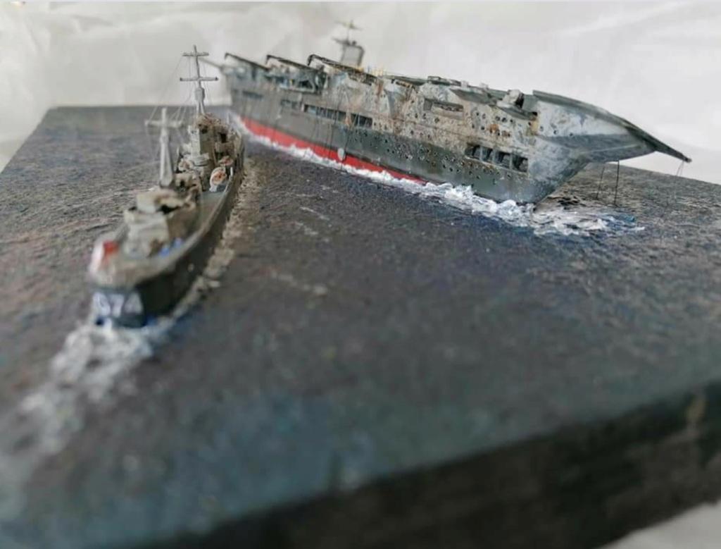 HMS Ark Royal, le naufrage Screen67