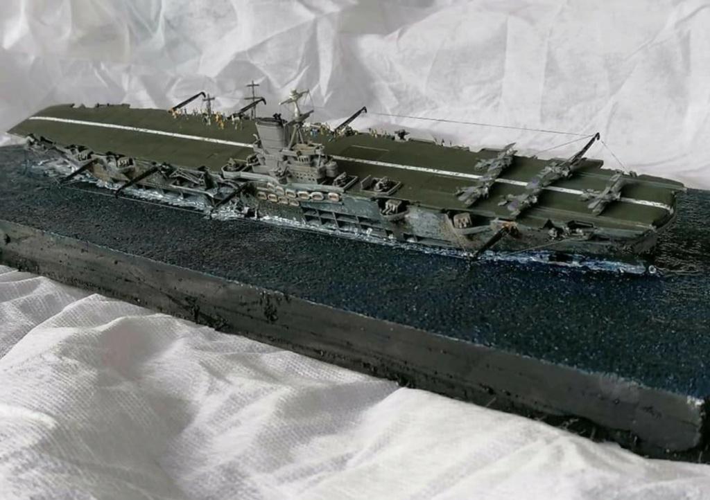 HMS Ark Royal, le naufrage Screen68