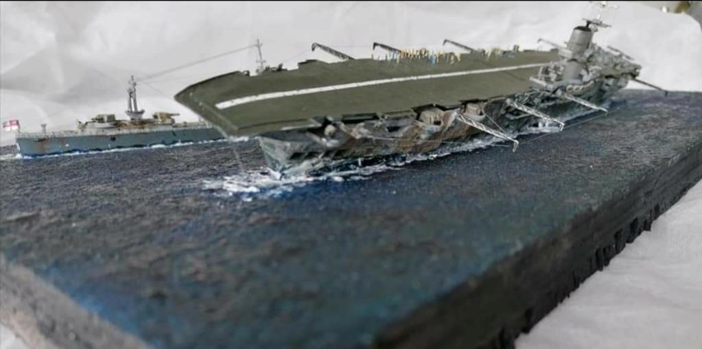 HMS Ark Royal, le naufrage Screen69