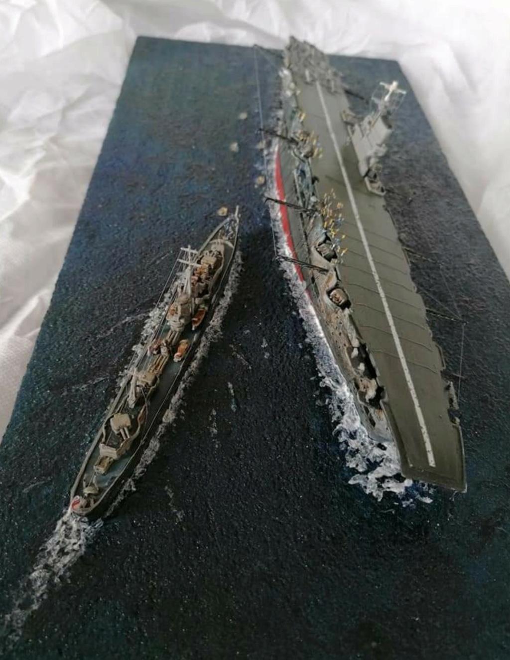 HMS Ark Royal, le naufrage Screen70
