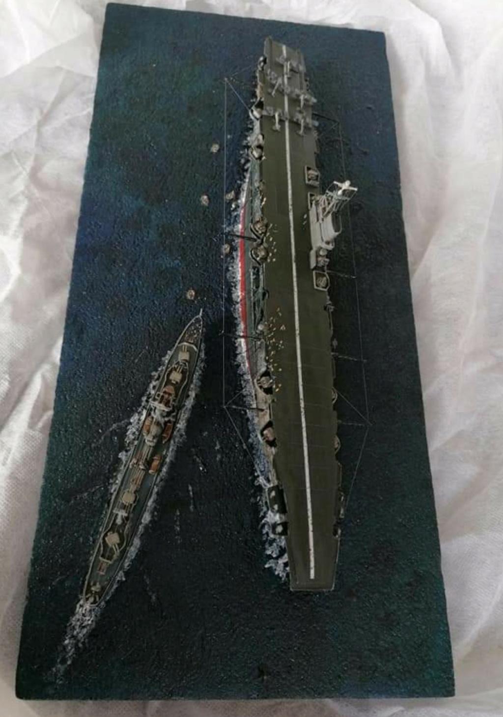 HMS Ark Royal, le naufrage Screen74