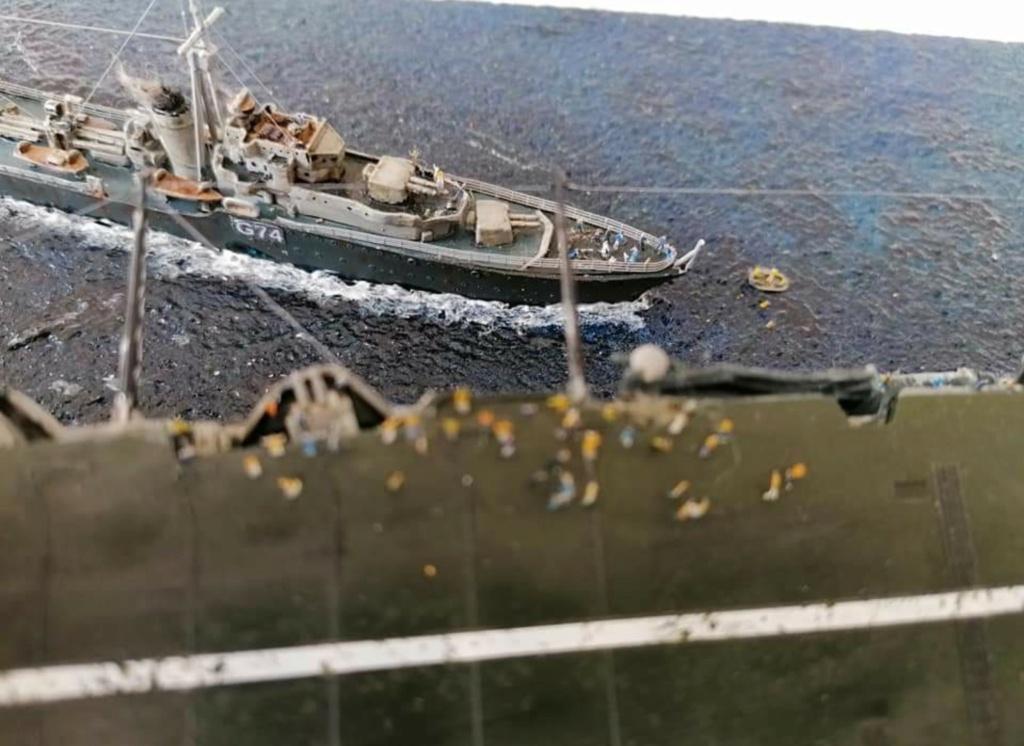 HMS Ark Royal, le naufrage Screen75
