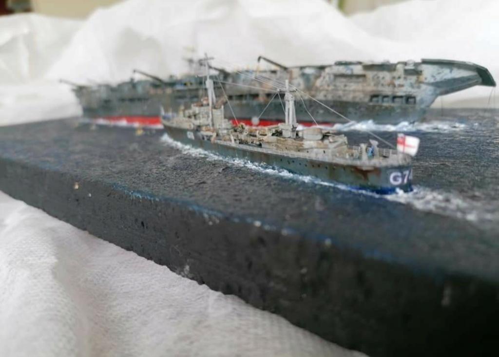 HMS Ark Royal, le naufrage Screen76