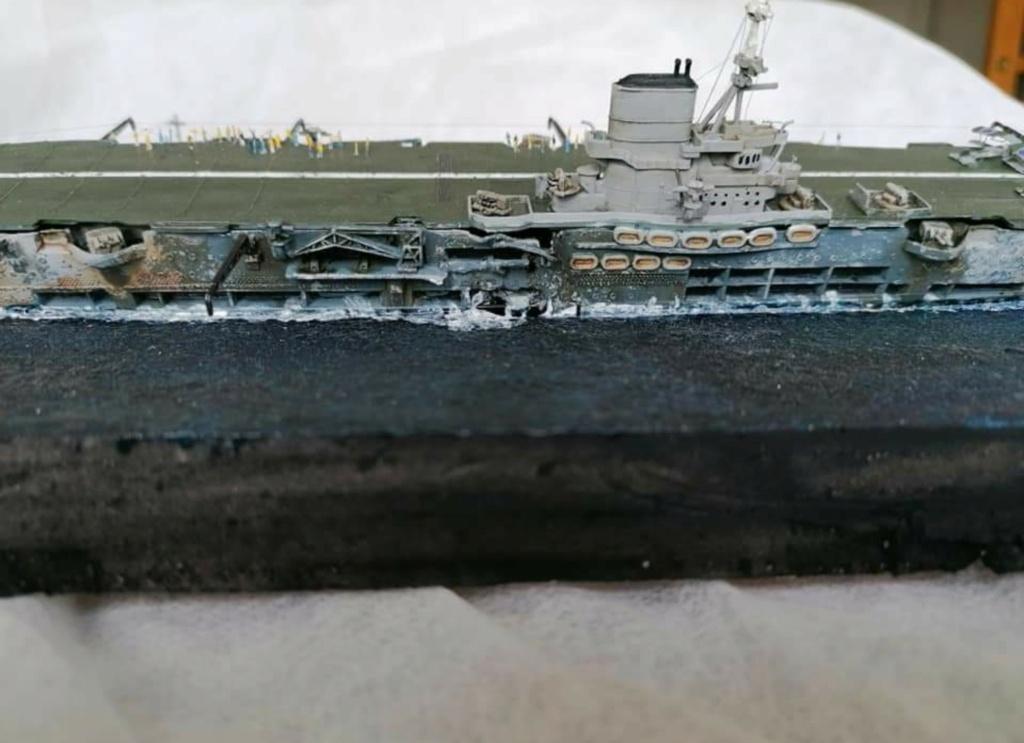 HMS Ark Royal, le naufrage Screen78
