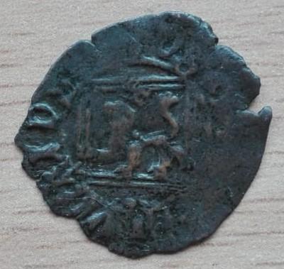 Blanca del ordenamiento de Segovia de 1471 de Enrique IV.  Mediav10
