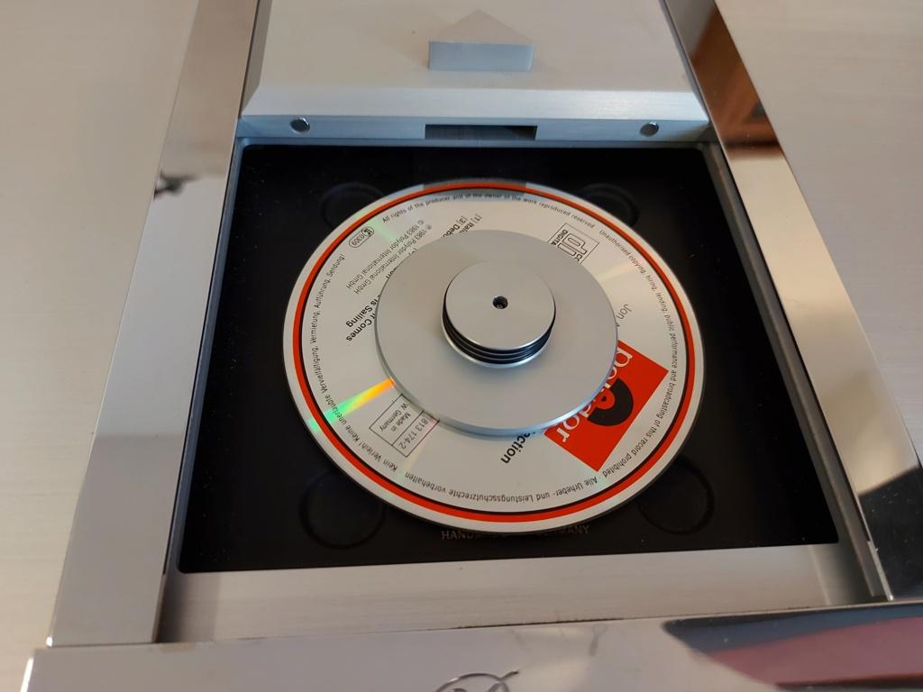 Burmester 001 CD Player Belt drive 20210716