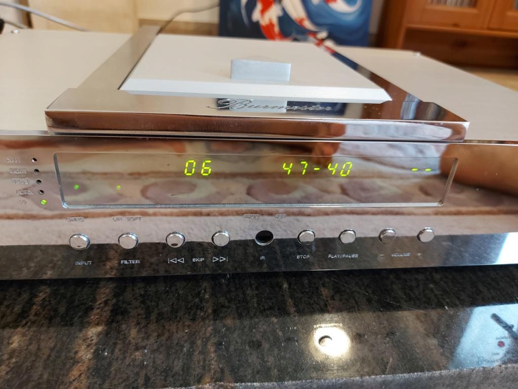 Burmester 001 CD Player Belt drive 20210718