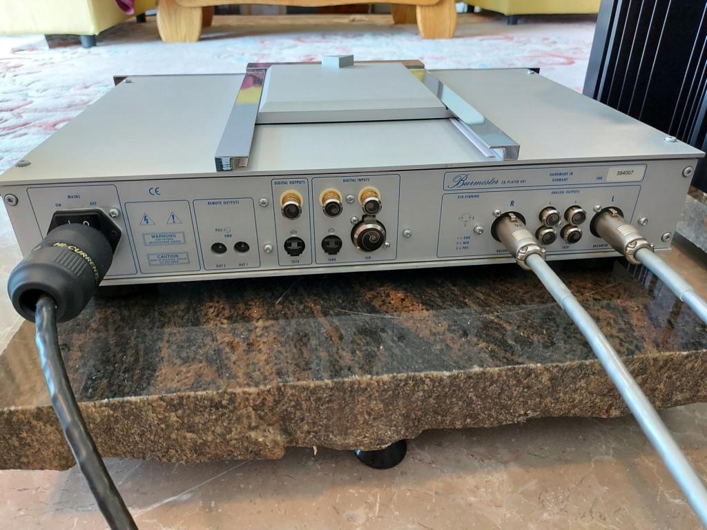 Burmester 001 CD Player Belt drive B410