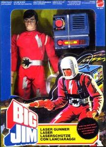 BIG JIM - Bigjim - MATTEL Laser810