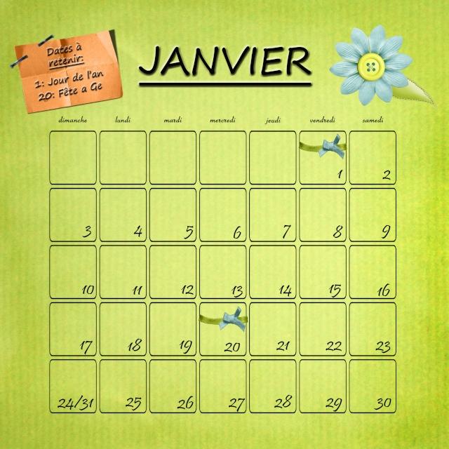 Calendrier 2010 Janvie11