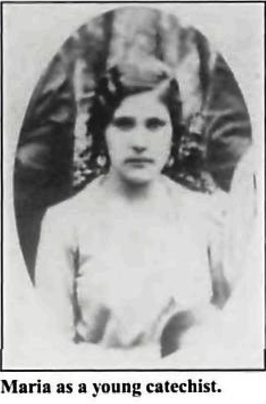 maria de la luz camacgo - Maria de la Luz Camacho, martyre , 1907-1934 ( Mexique ) Maria012