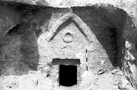 Mon interpretation du signe figurant sur la tombe de Talpiot 0227we10