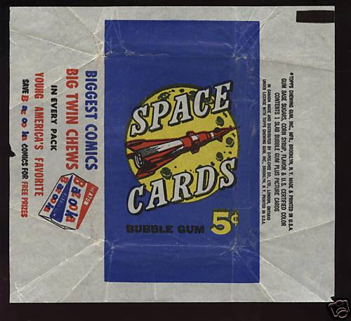 SPACE TRADING CARDS de TOPPS 1958_t10