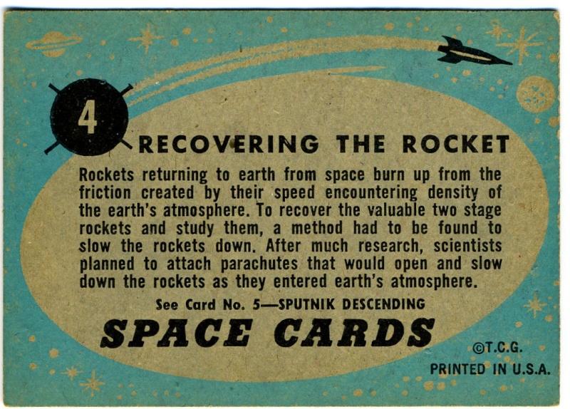 SPACE TRADING CARDS de TOPPS Topp-015