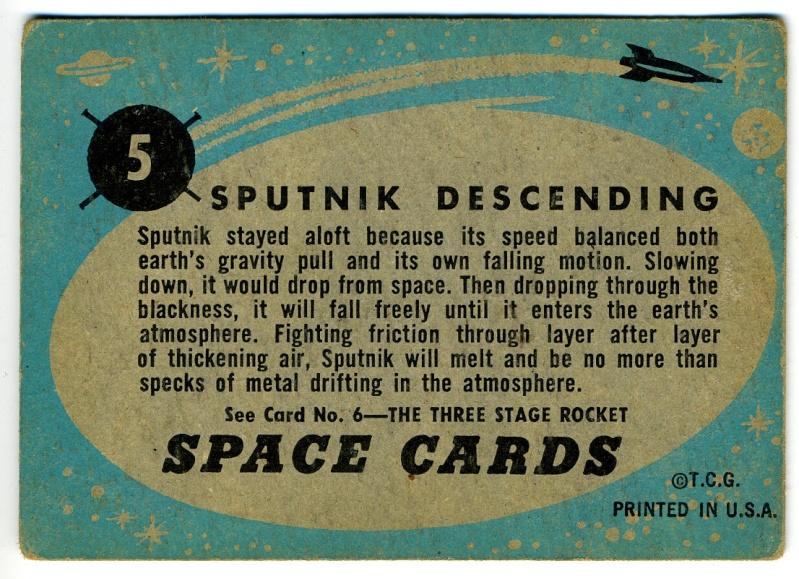 SPACE TRADING CARDS de TOPPS Topp-017