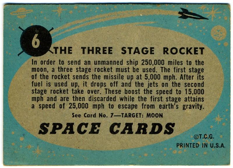 SPACE TRADING CARDS de TOPPS Topp-019