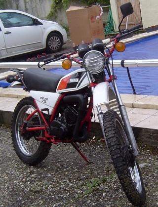DTMX 125cc Membres / Mod. 1978 125dtm10