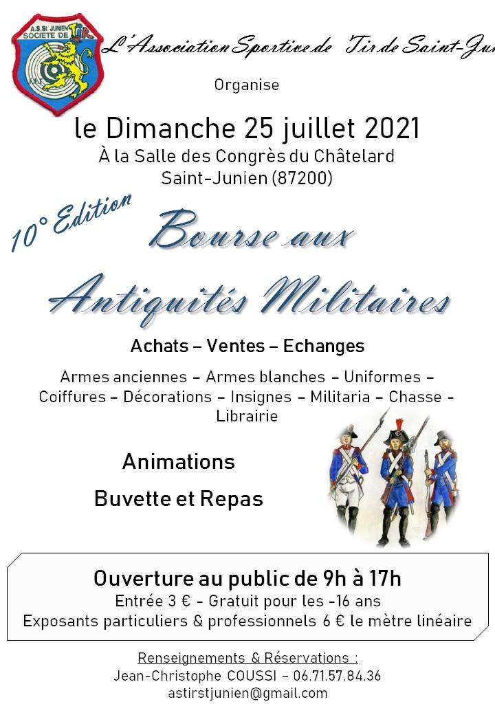 Bourse aux antiquités militaire à Saint Junien (87200) 21540910
