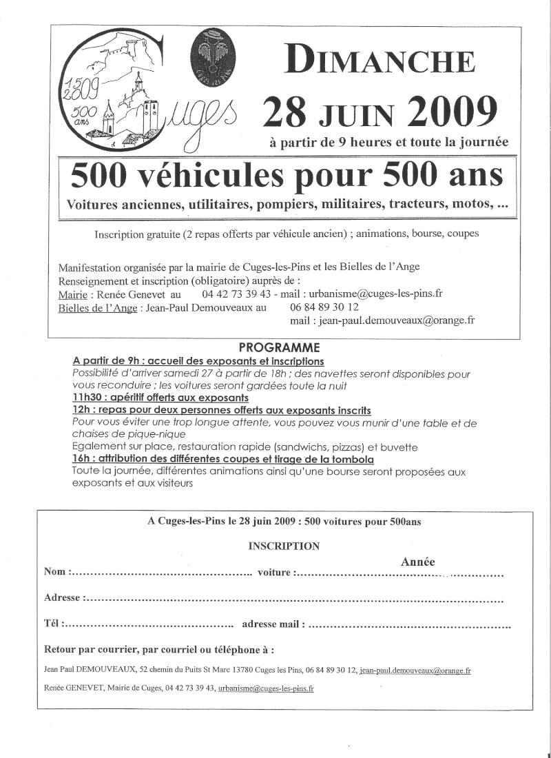 500 vehicules à Cuges les pins (13) le 28/06 Photo10