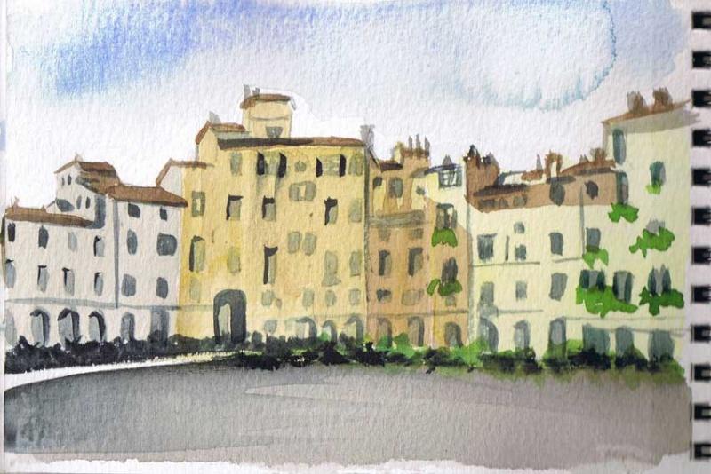 Vacances en Italie, Toscane, Latium Lucca210