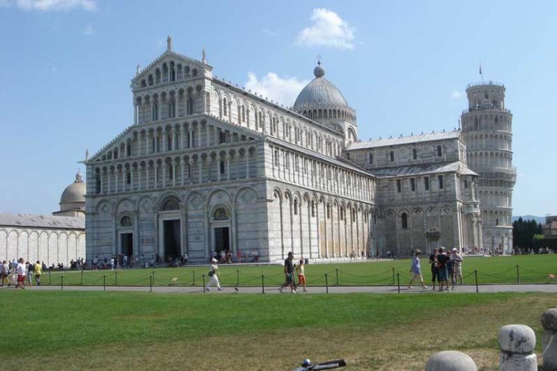 Vacances en Italie, Toscane, Latium P310
