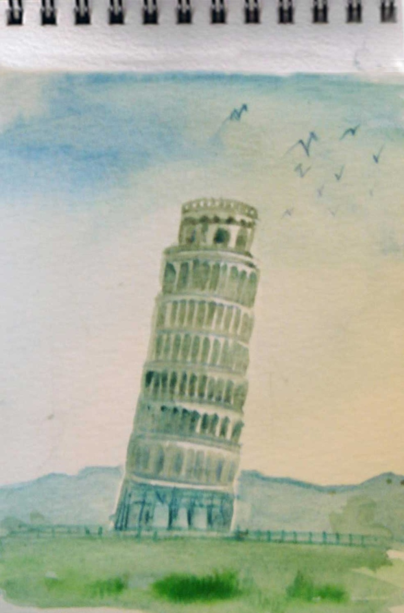 Vacances en Italie, Toscane, Latium Pise1w10