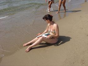 Vacances en Italie, Toscane, Latium Plage110