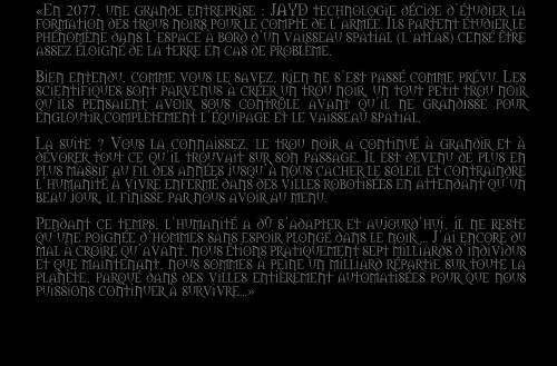 Découvrez Black Hole RPG Texteo10