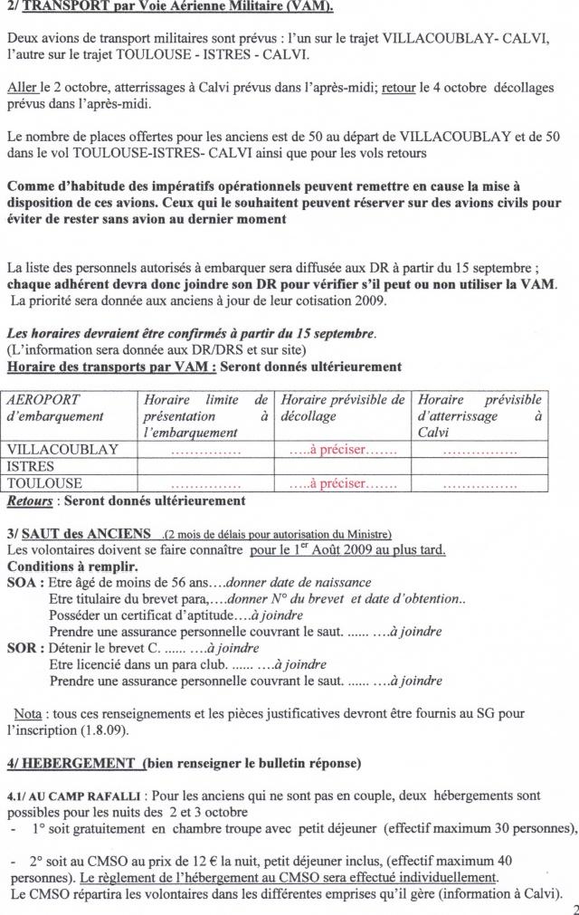 St Michel Calvi 2009  2 REP  LEGION ETRANGERE 29-06-11