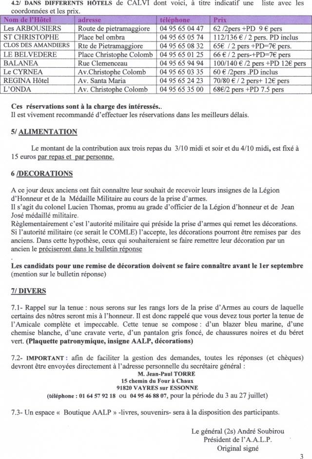 St Michel Calvi 2009  2 REP  LEGION ETRANGERE 29-06-12