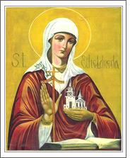Ste Audrey (ou Etheldrede) Audrey11
