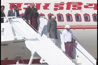 Vice-President of India visited Myanmar in February 2009 0210