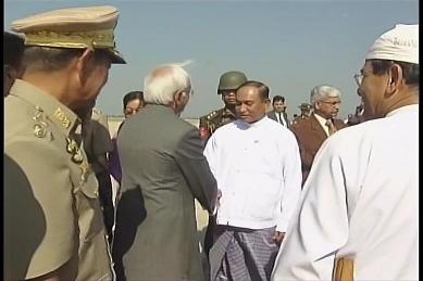 Vice-President of India visited Myanmar in February 2009 0710