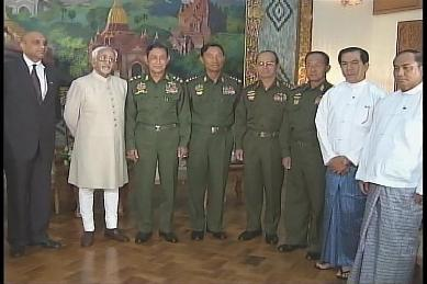 Vice-President of India visited Myanmar in February 2009 1010