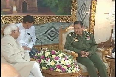 Vice-President of India visited Myanmar in February 2009 1110