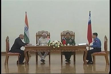 Vice-President of India visited Myanmar in February 2009 1410
