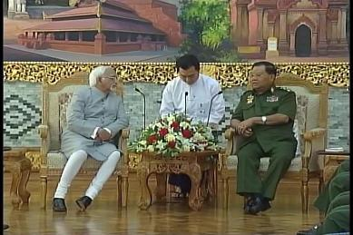 Vice-President of India visited Myanmar in February 2009 1610
