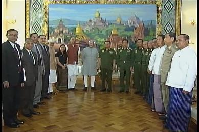 Vice-President of India visited Myanmar in February 2009 1910