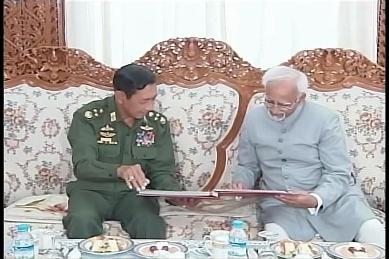 Vice-President of India visited Myanmar in February 2009 2312