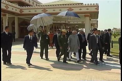 Vice-President of India visited Myanmar in February 2009 2410
