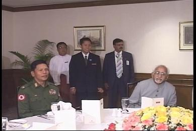Vice-President of India visited Myanmar in February 2009 3110