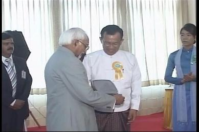 Vice-President of India visited Myanmar in February 2009 3610