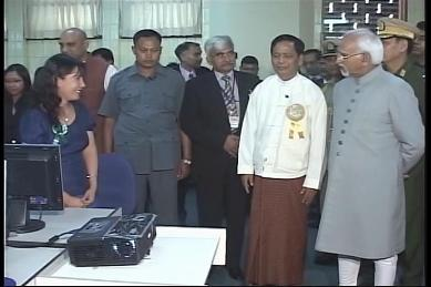 Vice-President of India visited Myanmar in February 2009 3710