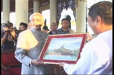 Vice-President of India visited Myanmar in February 2009 3910