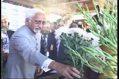 Vice-President of India visited Myanmar in February 2009 4110