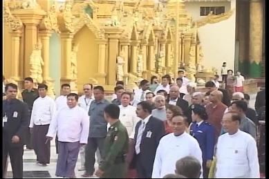 Vice-President of India visited Myanmar in February 2009 4210