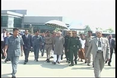 Vice-President of India visited Myanmar in February 2009 4410